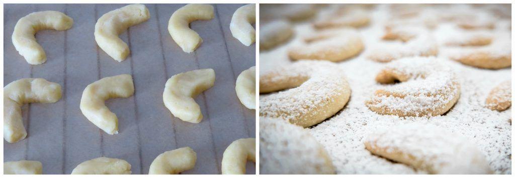 Vanillekipferl Austrian Vanilla Crescent Cookies