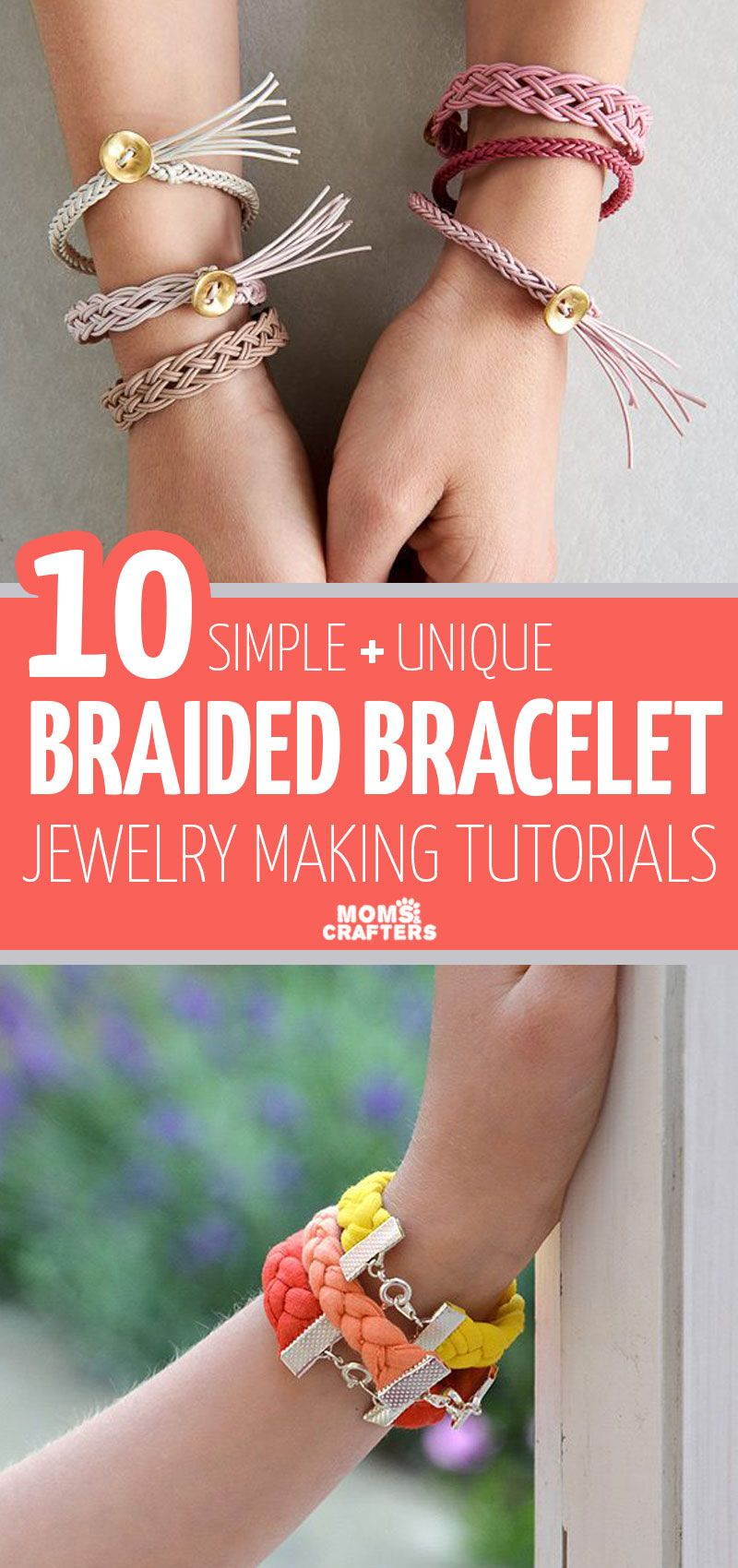 Photo of Make these fun braided bracelets with easy tutorials!