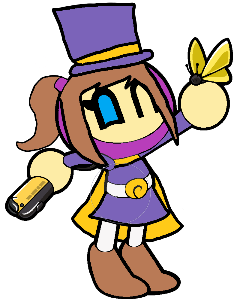 Hat Kid Bomber From A Hat In Time A Hat In Time Anime Fnaf Bomberman