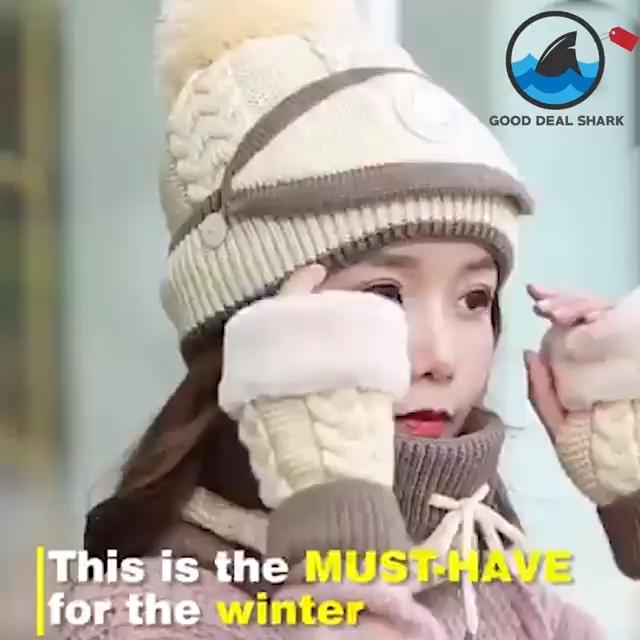 3-in-1 Winter Mask #crochetformoney