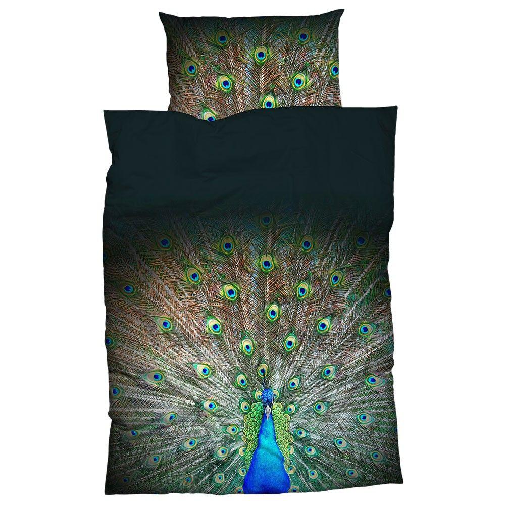Casatex Mako Satin Bettwäsche Peacock Online Kaufen