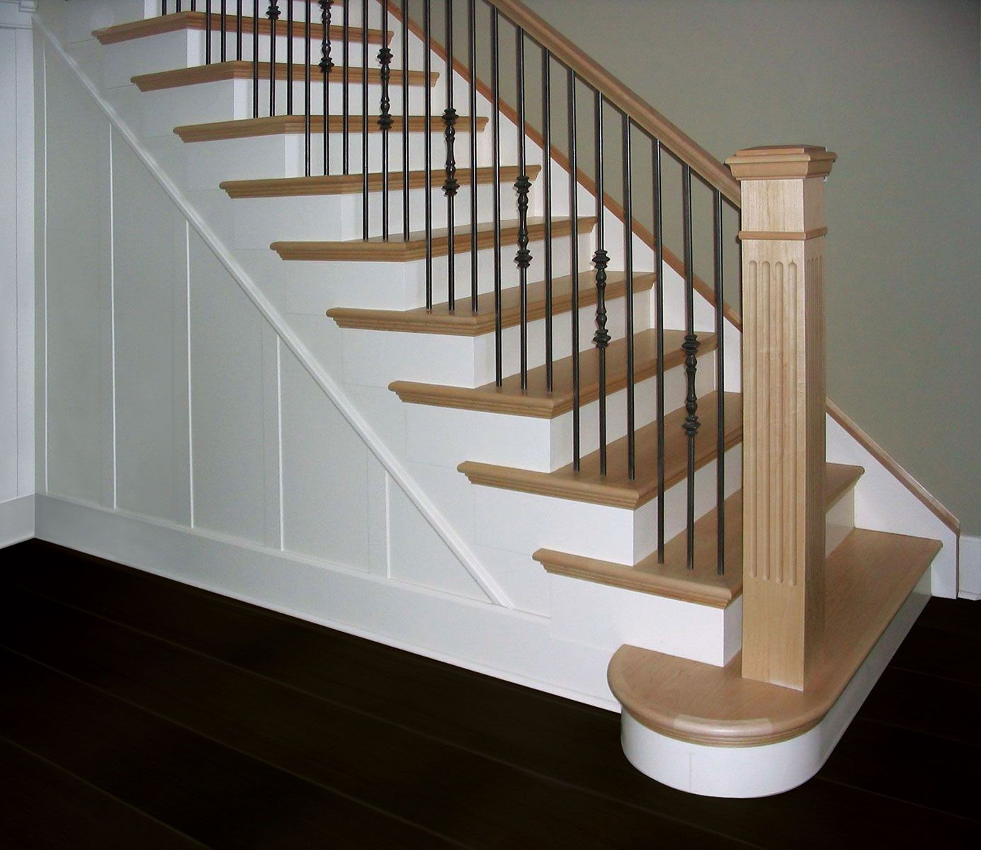 Possible Stair Remodel; Would Add Dirt Resistant Carpeted Runner.