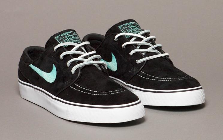 4f603dc4a Nike-SB-Zoom-Stefan-Janoski-Black-Mint | Shoes in 2019 | Janoski ...