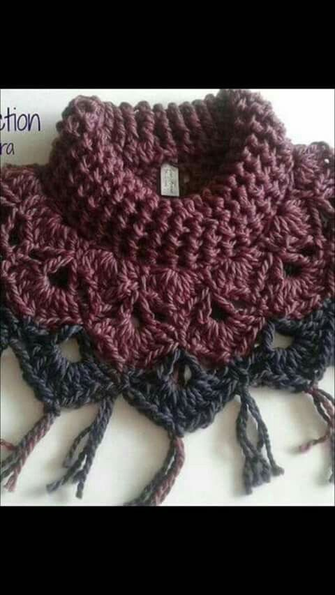 Um de fofetis | Crochet Idea\'s | Pinterest | Kragen, Wolle und Häkeln