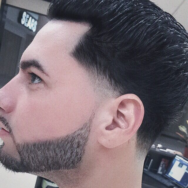 Brooklyn Blowout Fade With Beard