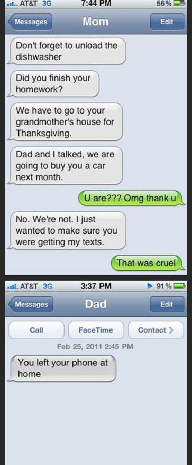 clean funny texts for kids - photo #28