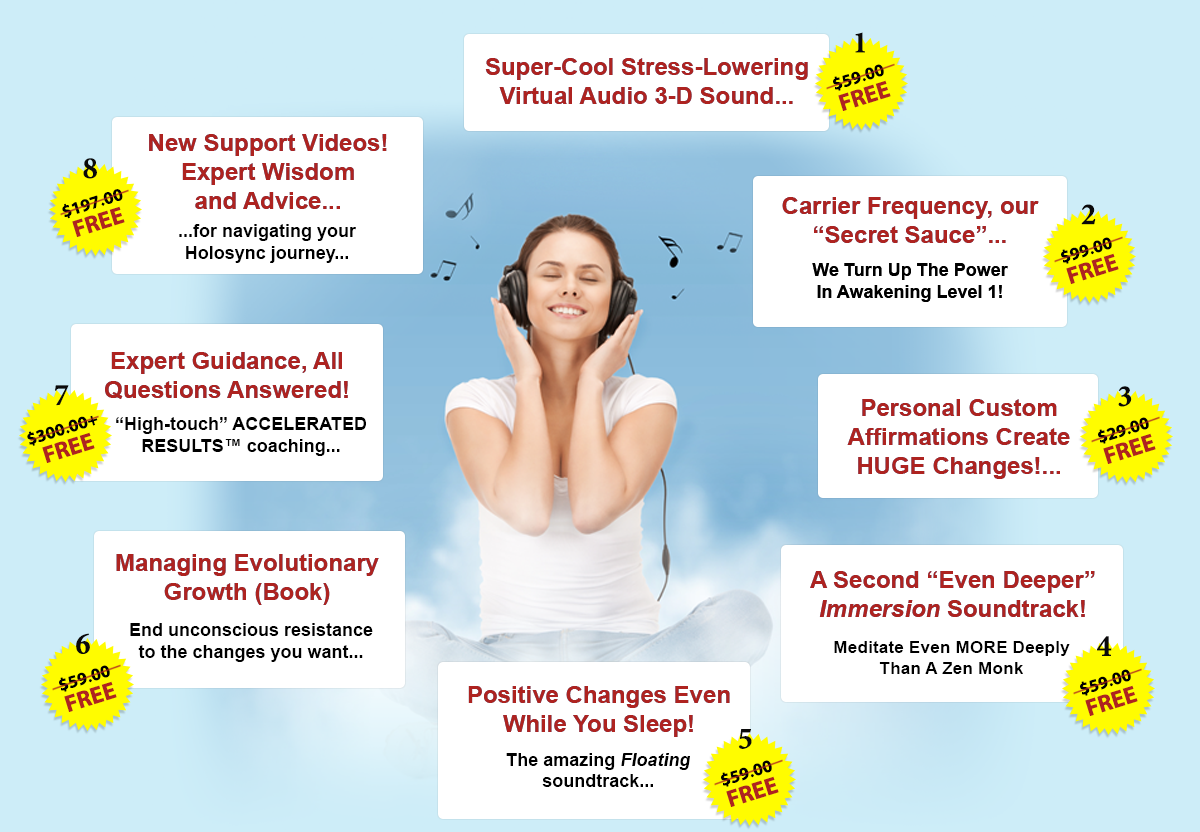 The Benefits of Holosync Meditation