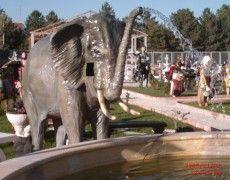 Asian Elephant Statue