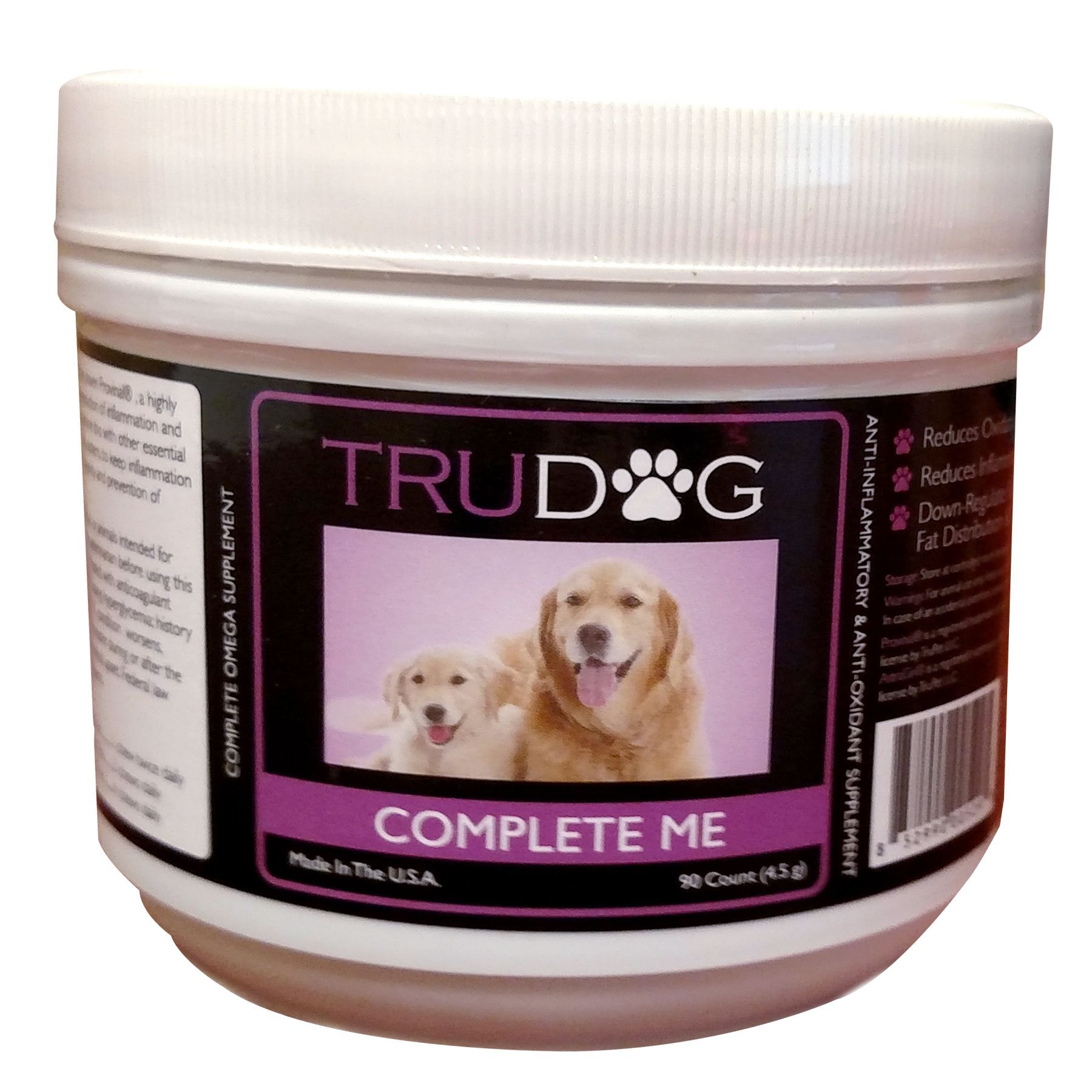 TruDog Complete Me AntiInflammatory and AntiOxidant Dog