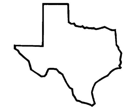Texas State Stencil Love Your Home State : Texas DIY Art Stencil Texas Stencil