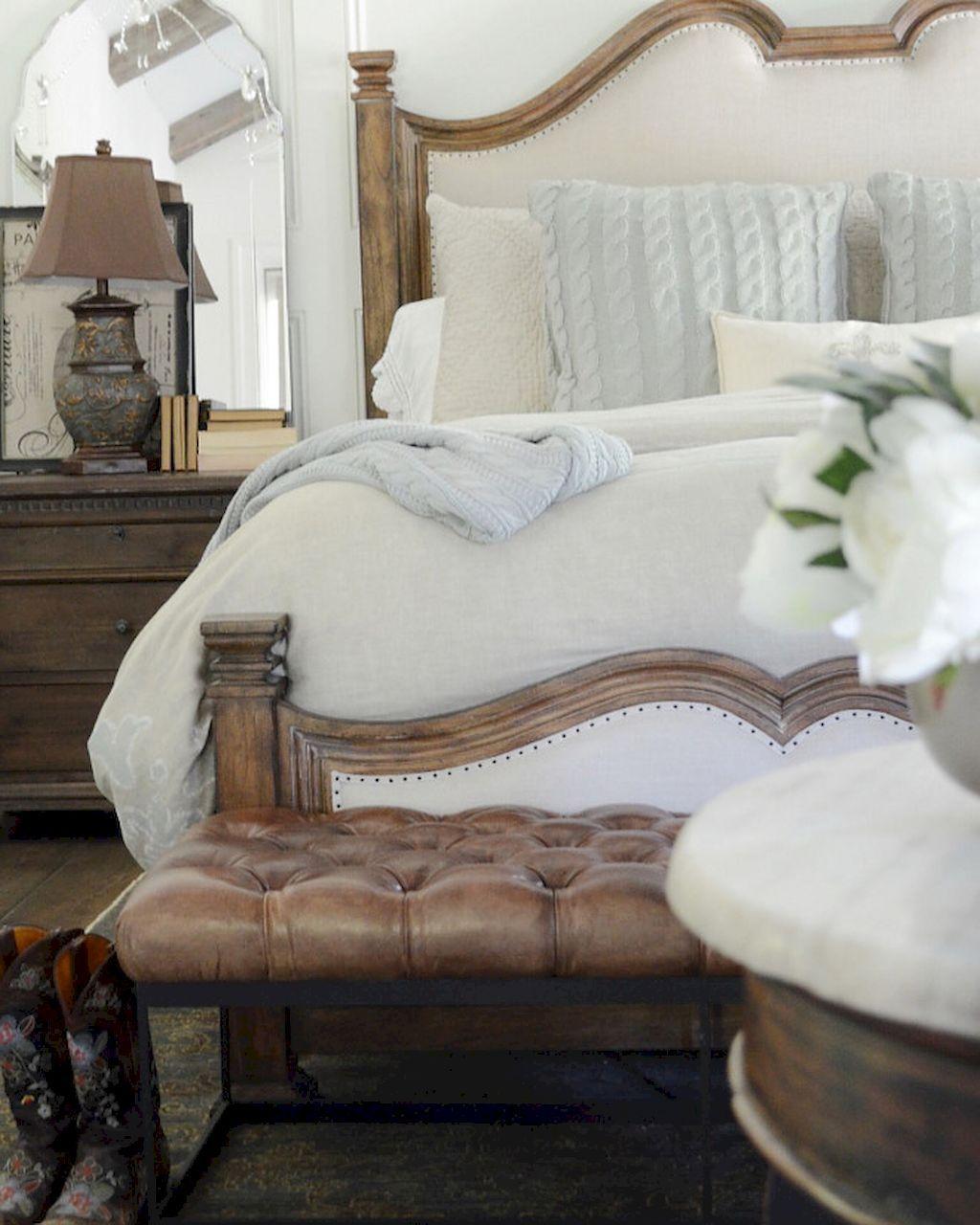 60 farmhouse style master bedroom decoration ideas