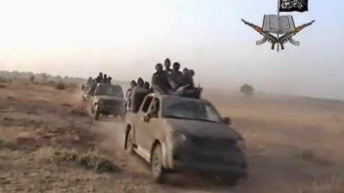 Nigerian Air Force Intercepts, Destroys Boko Haram Transport Trucks - http://www.77evenbusiness.com/nigerian-air-force-intercepts-destroys-boko-haram-transport-trucks/