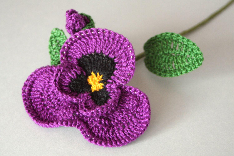 🌸 Flor de Crochê Receita Amor - Perfeito  Pétalas -  /  🌸 Crochet Flower Recipe Love -  Petals -