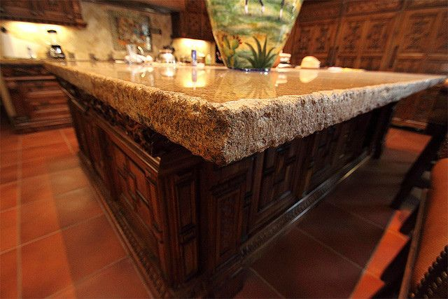 Awesome Chiseled Edge Granite Countertop New Trend!