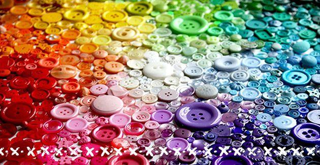 adoro FARM - arco-íris de botões