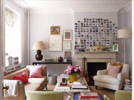 Fantastic Furniture Arrangement For An Off Center Fireplace