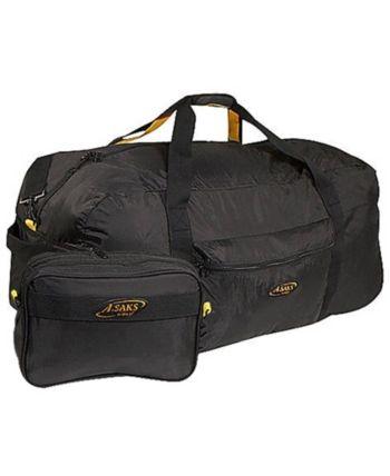A.SAKS On The Go 20 Expandable Wheeled Duffel Bag