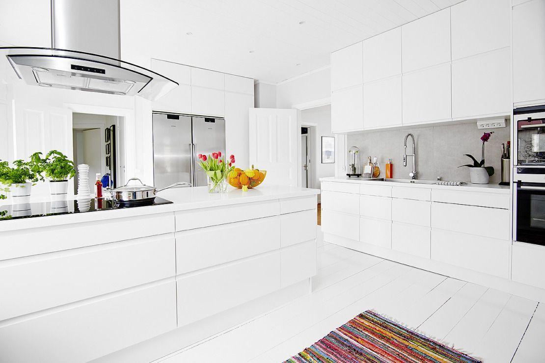 decoración diseño cocinas modernas decoración cocinas con península ...