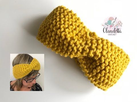 Vollpatent in Runden stricken, fluffiges Maschenbild | Neupin #knitheadbandpattern