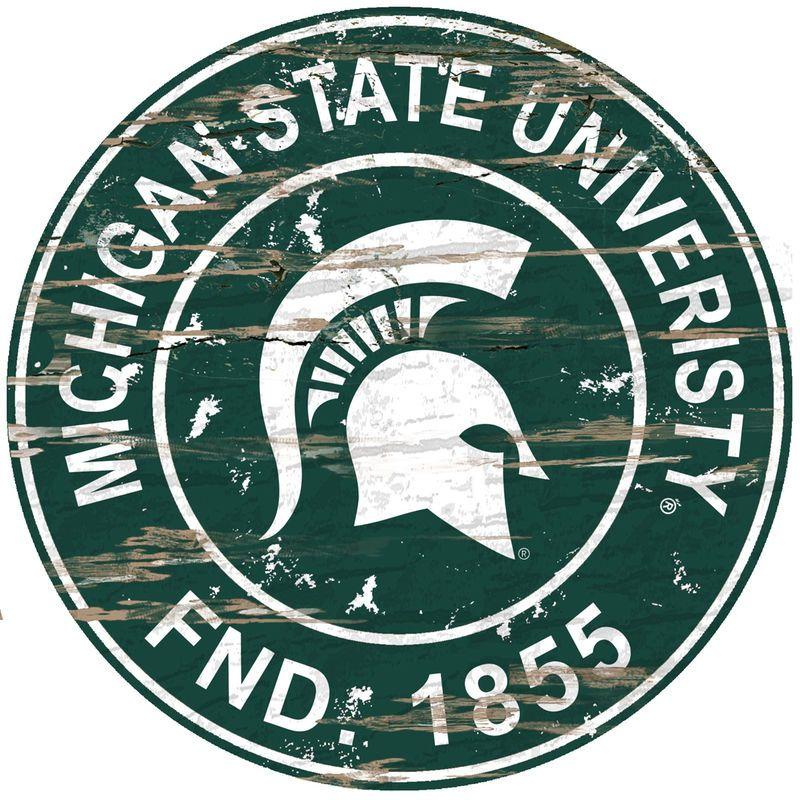 wall car bumper Michigan State Spartans NCAA Football Fan Team for window