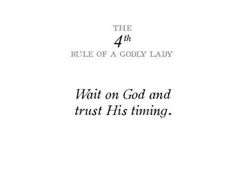 Gods rules on dating