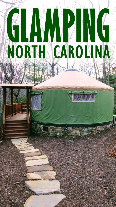 Glamping NC: Staying at the Sky Ridge Yurts near Bryson City  | My