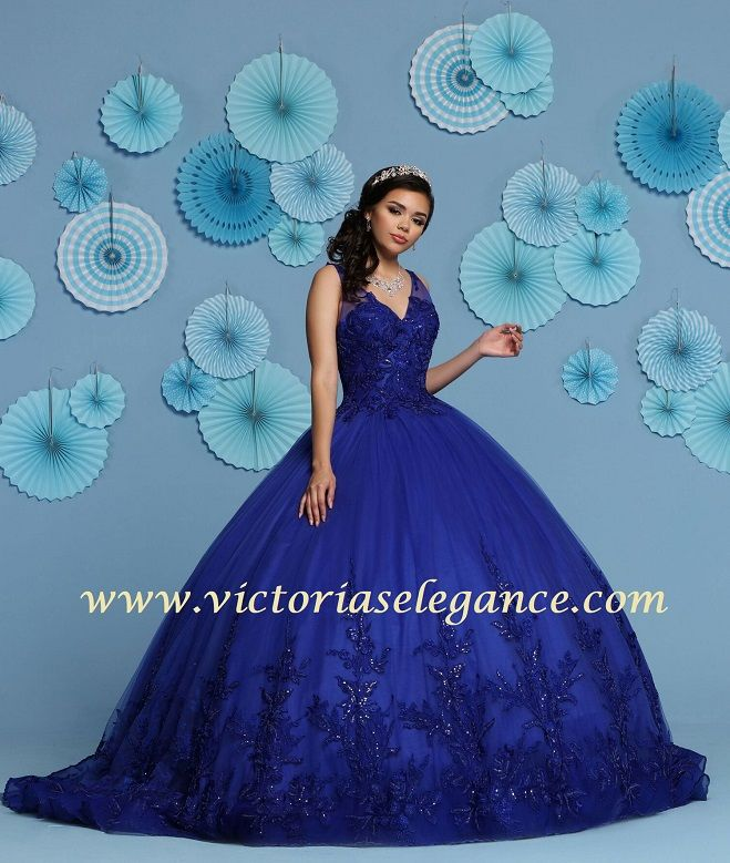 c7fda69bb6d Tulle ball gown with lace   sequined bodice as well as lace sequins  throughout the