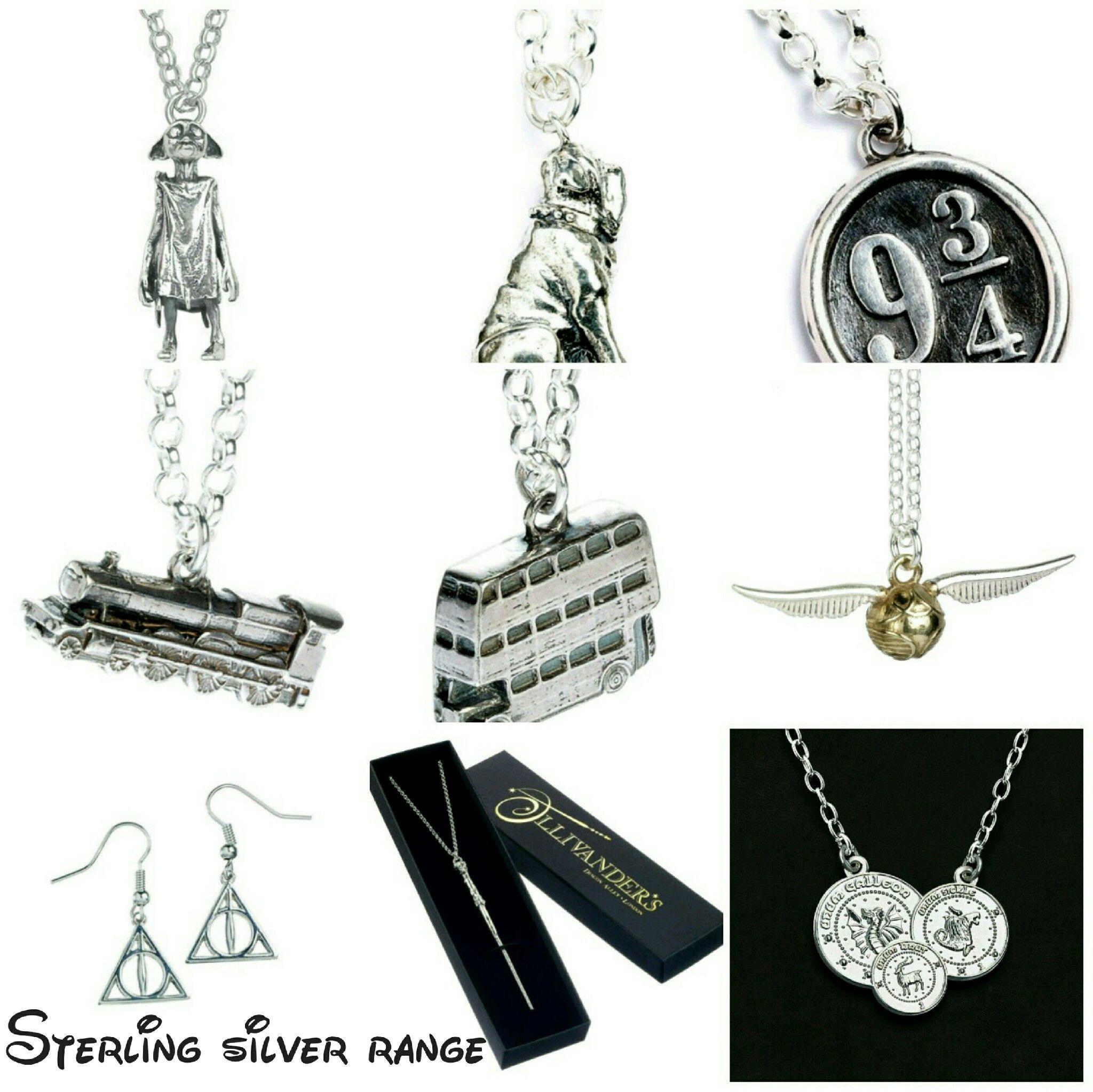 Sterling silver range in stock now harrypotter Hogwarts