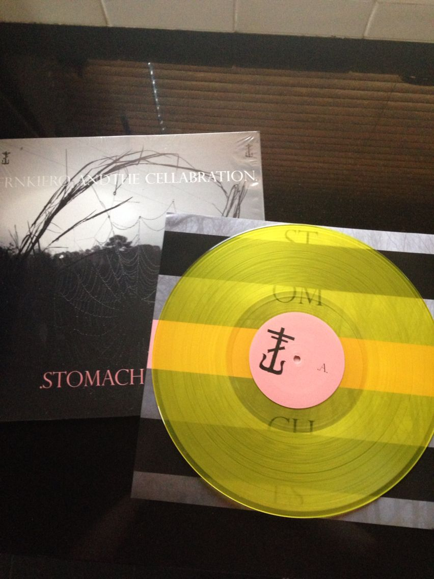 Stomachaches Yellow Variant Frnkiero Andthe Cellabration Vinyl Records Calming Pictures Zombie Romance