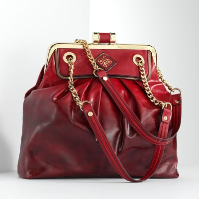 {simply vera vera wang pleated satchel}