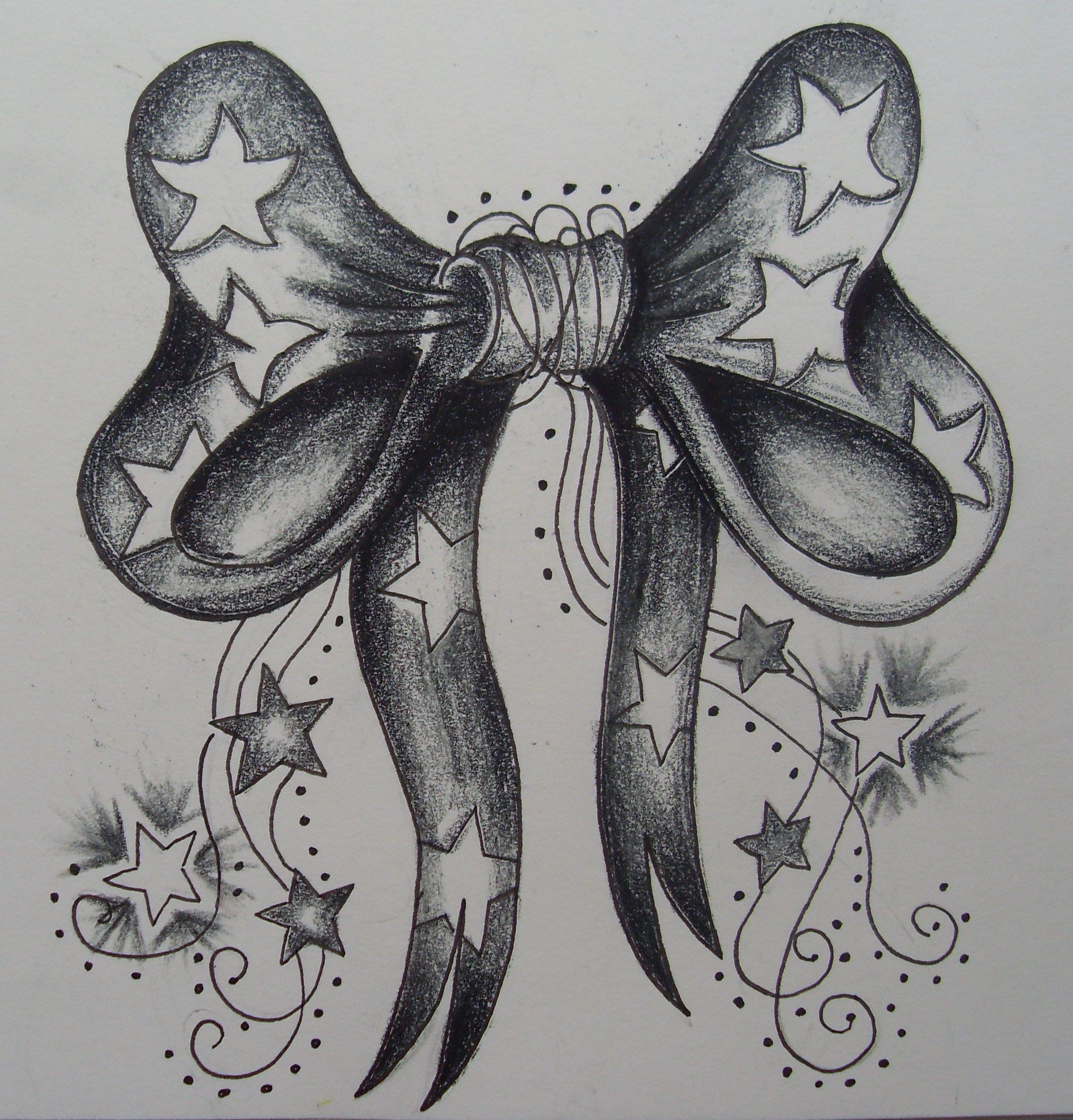 Pin by Carolyn Robertson on Fun Bow tattoo, Bow tattoo