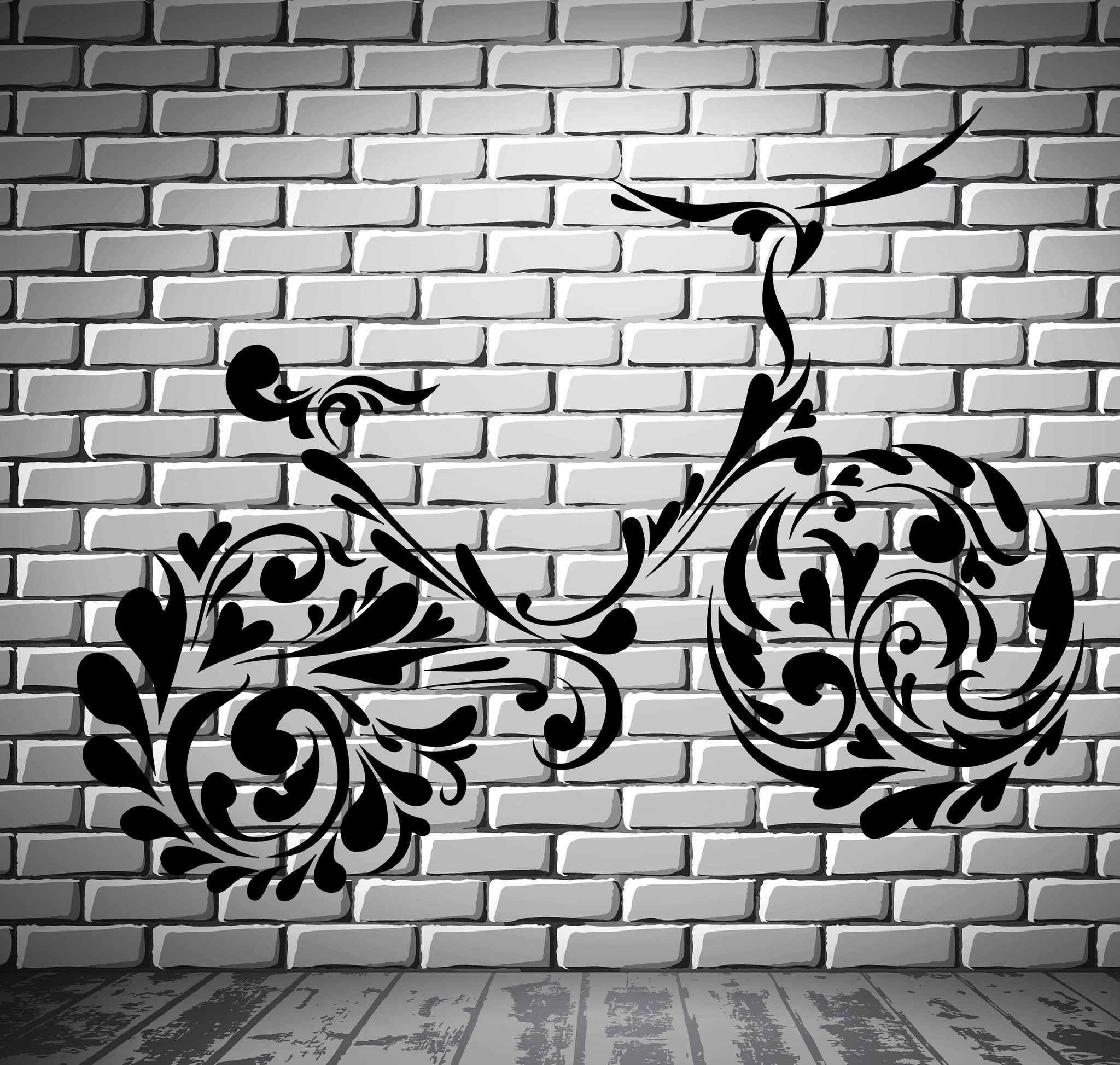 Bike Bicycle Bicycling Patterns Teenager Room Wall Sticker