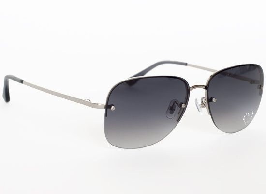 c88e2845704e0 Chloe Sunglasses - Rimless Aviator w  Rhinestone Heart - Silver - BEST  SHADES EVER! I m on my second pair!
