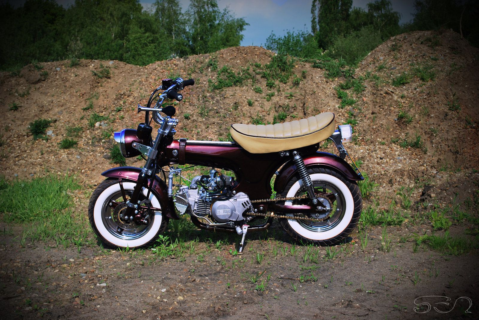my honda dax by sen007 motorbikes pinterest honda by and art. Black Bedroom Furniture Sets. Home Design Ideas