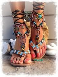 Image result for hippie leather sandals
