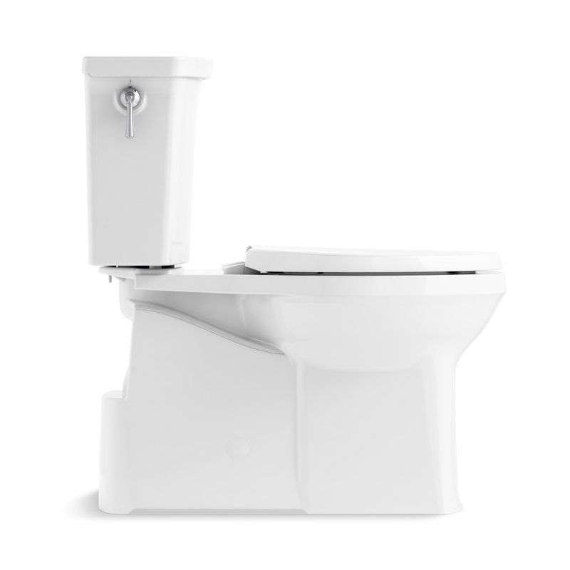 Corbelle Comfort Height Two Piece Elongated 1 28 Gpf Toilet With