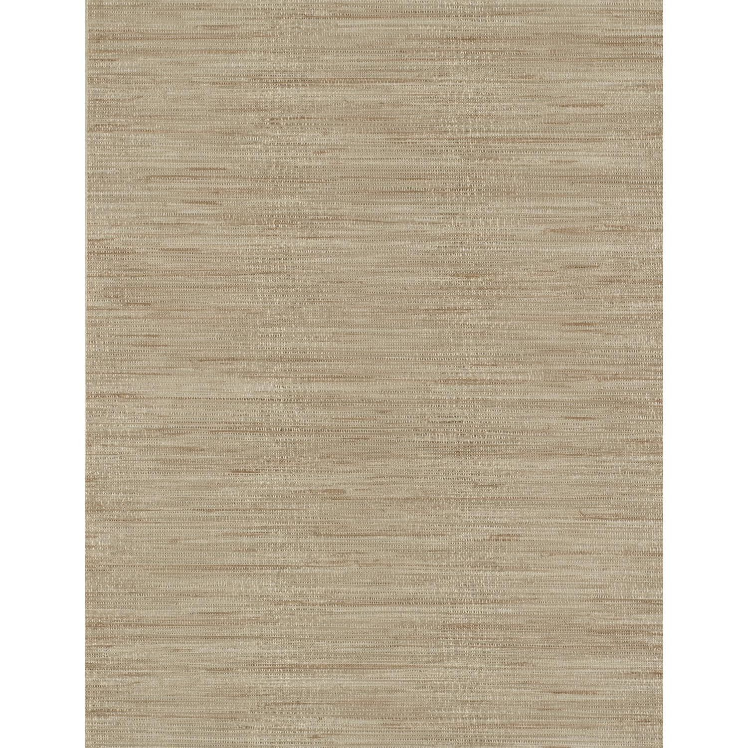 """Grasscloth 33' x 20.8"""" Solid 3D Embossed Wallpaper Wall"""