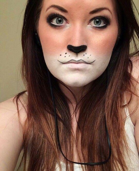 Simple Easy Fox Makeup Holloween Costums Halloween Halloween - Fox-makeup