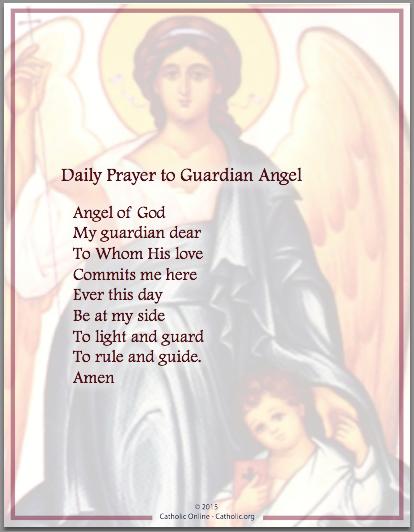 Prayers Daily Prayer To Guardian Angel Guardian Angels Prayer Daily Prayer Inspirational Prayers