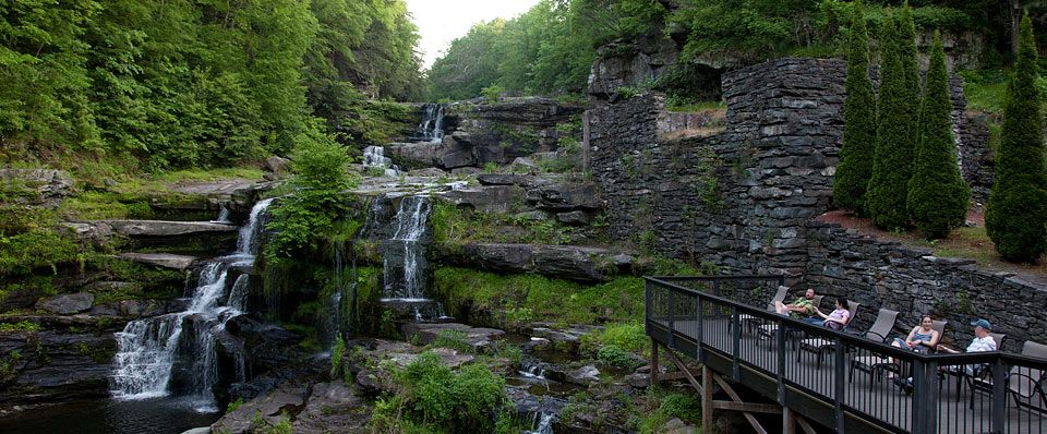 The Absolute Most Beautiful Spot I Have Ever Eaten Dinner Took My Breath Away Gl House At Ledges Hotel In Hawley Pa A Poconos
