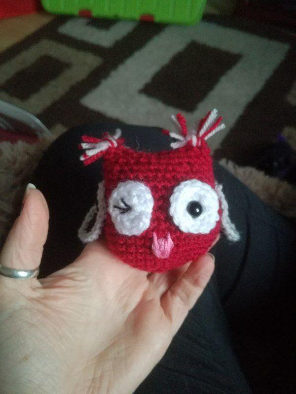 Patrón de crochet libre: Pequeños búhos amigurumi | búhos ...
