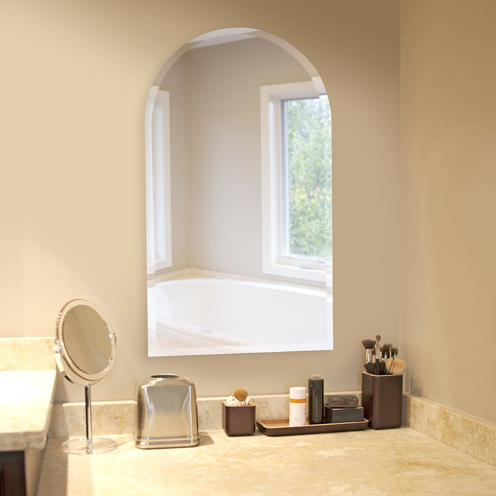 Titcomb Frameless Arched Wall Mirror | Arch, Walls and Products