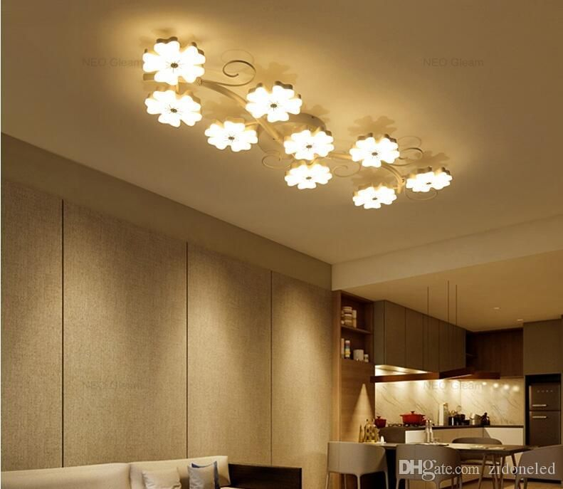 Selecting Cheap Modern Led Ceiling Lights Plum Blossom Ceiling
