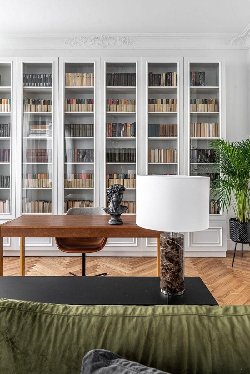 〚 Bright modern apartment with classic details in Vilnius 〛 ◾ Photos ◾ Ideas ◾ Design