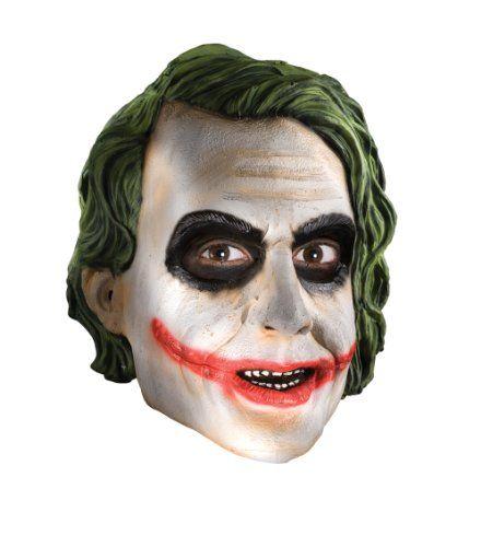 Rubies Costume Co Mens Batman The Dark Knight The Joker Adult 3 4 Mask  Multi One Size   niftywarehouse.com  NiftyWarehouse  Batman  DC  Comics   ComicBooks 939f35ed630b6