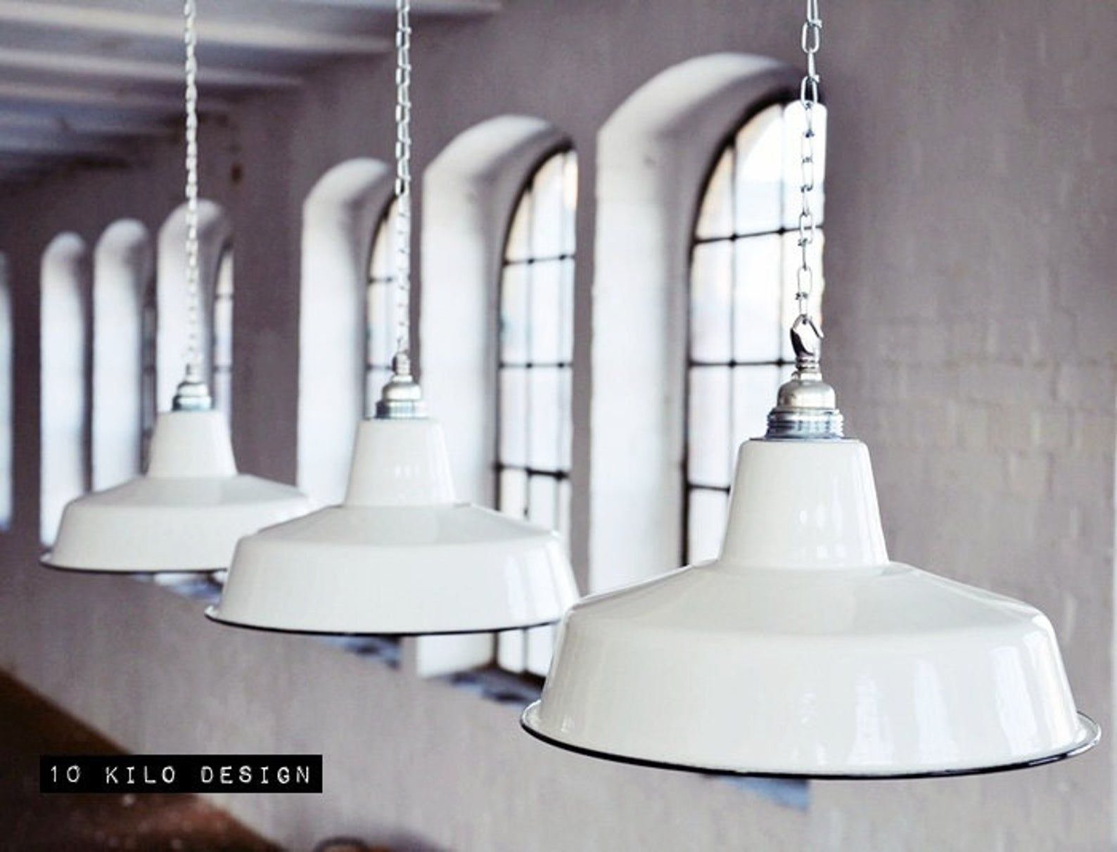 Emaille Lampe Industrial Factory Shade Industriel Emaillee Etsy Lampe Lampe Industrial Lampen