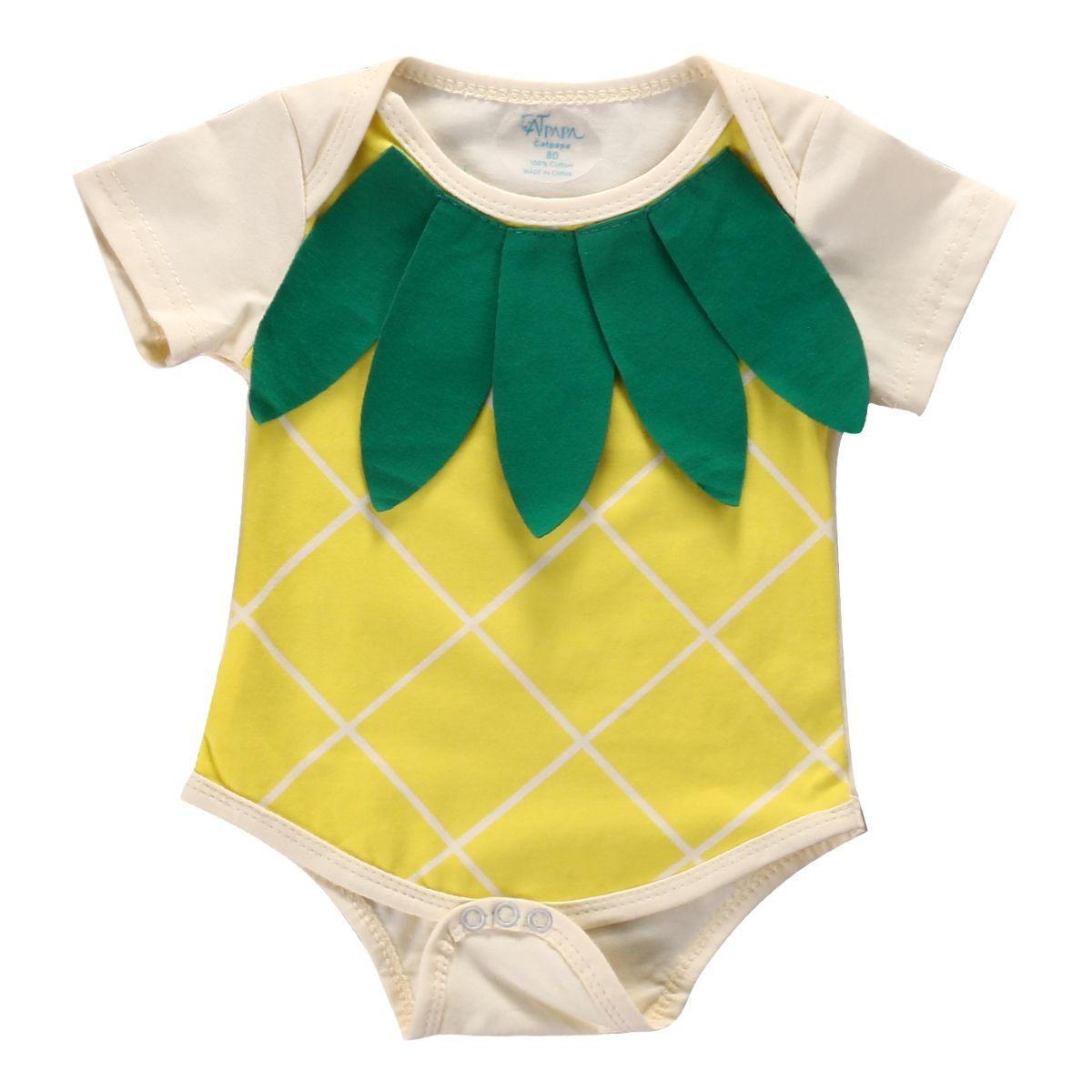 Baby Onesies Be a Pineapple Best 100/% Cotton Bodysuits Stylish Short Sleeve Bodysuit