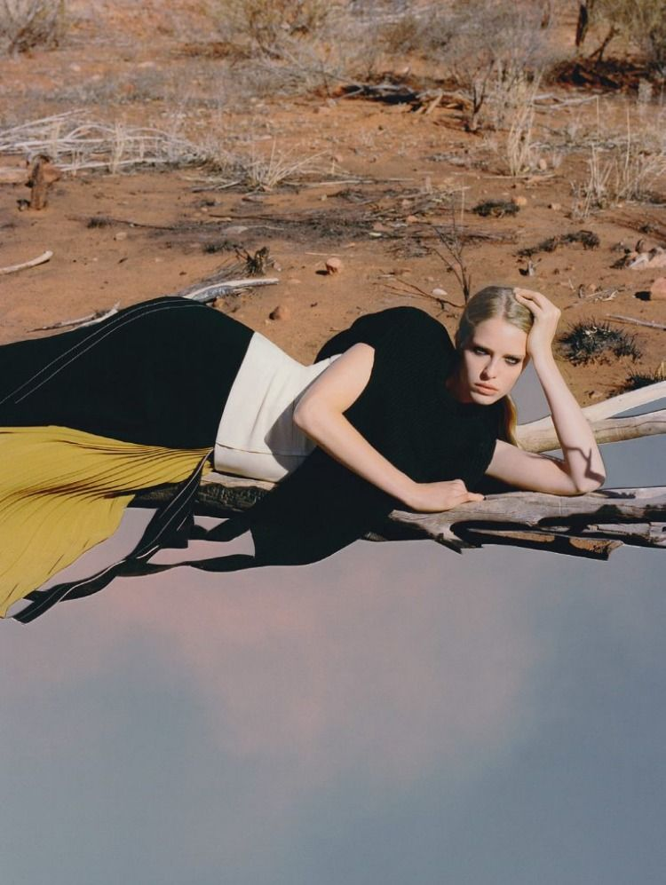 Models Abby Champion and Adual Akrol welcome 2020, styled by Vanessa Coyle. The January 2020 issue of Vogue Ukraine walks the Vogue Values platform with a focus on nature and environment lensed by Derek Henderson, with art direction by Cynthia Swanson.  #fashion #style #fashionstyle #collage #fashionphotography #artphotography #fashiontrends #fashionblog #fashionblogger #styleblogger