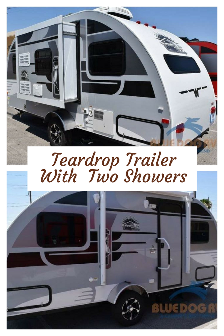 Teardrop Trailer With Bathroom: Teardrop Trailer With Two Showers