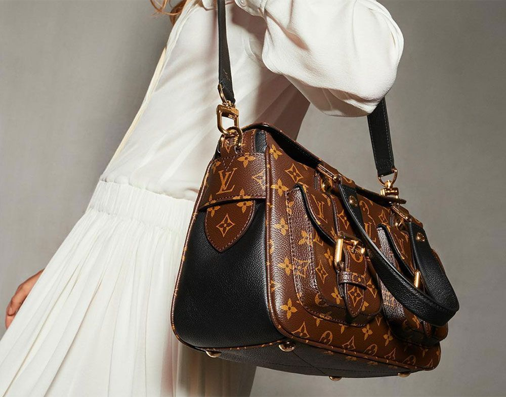 1feeafb0ac3e Louis Vuitton Has Relaunched the Manhattan Bag with a Whole New Look -  PurseBlog